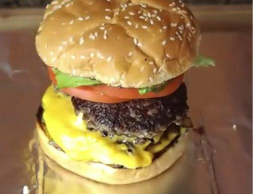 How do Five Guys make their burgers?